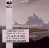 BRUCKNER - Celibidache - Symphonie n°9 en ré mineur WAB 109