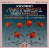 SCHOENBERG - Swarowsky - Pelleas und Melisande, poème symphonique pour o