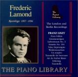 LISZT - Lamond - Gnomenreigen, étude de concert n°2 pour piano S.145 - 2