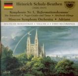 SCHULZ-BEUTHEN - Adriano - Symphonie pour grand orchestre et orgue n°5 o