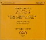 SPONTINI - Votto - La vestale (live Scala di Milano 7 - 12 - 54) live Scala di Milano 7 - 12 - 54