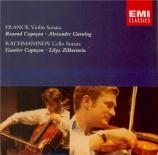 FRANCK - Capuçon - Sonate pour piano et violon en la majeur FWV.8