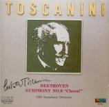 BEETHOVEN - Toscanini - Symphonie n°9 op.125 'Ode à la joie' Import Japon