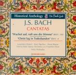 BACH - Prohaska - Wachet auf, ruft uns die Stimme, cantate pour solistes