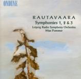 RAUTAVAARA - Pommer - Symphonie n°1