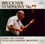 BRUCKNER - Matacic - Symphonie n°7 en mi majeur WAB 107 (import Japon) import Japon