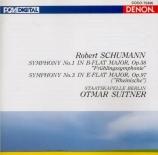 SCHUMANN - Suitner - Symphonie n°1 pour orchestre en si bémol majeur op Import Japon