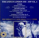 Toscanini à Londres Vol.4