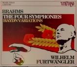 BRAHMS - Furtwängler - Symphonies (intégrale)