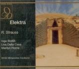 STRAUSS - Mitropoulos - Elektra, opéra op.58 (live Wien, 1957) live Wien, 1957