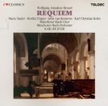MOZART - Richter - Requiem pour solistes, chœur et orchestre en ré mineu