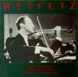 STRAUSS - Heifetz - Sonate pour violon et piano en mi bémol majeur op.18