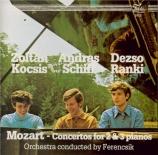 MOZART - Kocsis - Concerto pour deux pianos et orchestre n°10 en mi bémo