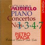 PAISIELLO - Spada - Concerto pour piano n°1 en do majeur