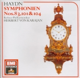 HAYDN - Karajan - Symphonie n°101 en ré majeur Hob.I:101 'The clock' (L?