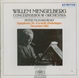 TCHAIKOVSKY - Mengelberg - Symphonie n°6 en si mineur op.74 'Pathétique'