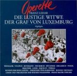 La veuve Joyeuse - Le Comte de Luxembourg