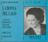 ROSSINI - Bellugi - La donna del lago (Live RAI Torino, 22 - 04 - 1970) Live RAI Torino, 22 - 04 - 1970