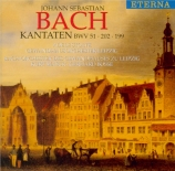 BACH - Bosse - Jauchzet Gott in allen Landen, cantate pour soprano et or