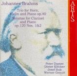 BRAHMS - Daum - Trio avec cor op.40