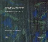RIHM - Wambach - Klavierstück n°1 op.8a
