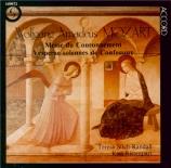 MOZART - Ristenpart - Messe en do majeur, pour solistes, choeur, orgue et