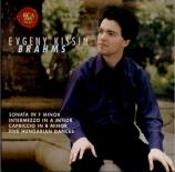 BRAHMS - Kissin - Sonate pour piano n°3 en fa mineur op.5