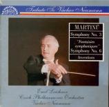 MARTINU - Neumann - Symphonie n°3 H.299