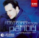 KHATCHATURIAN - Pahud - Concerto pour violon (version pour flûte)