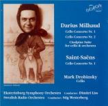 MILHAUD - Drobinsky - Concerto pour violoncelle n°1 op.136