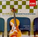 DVORAK - Tetzlaff - Trio avec piano n°3 en fa mineur op.65 B.130