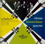SCHUBERT - Wiener Konzerth - Quatuor à cordes n°4 en do majeur D.46 Import Japon
