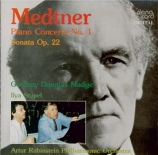MEDTNER - Madge - Concerto pour piano n°1 op.33