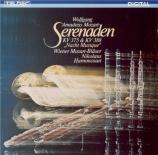MOZART - Harnoncourt - Sérénade n°11, pour instruments à vent en mi bémo