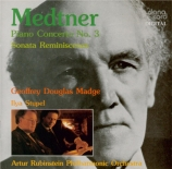MEDTNER - Madge - Concerto pour piano n°3 op.60