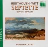 BEETHOVEN - Berliner Oktett - Septuor op.20