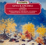 KANCHELI - Kakhidze - Symphonie n°4 'In commemoration of Michaelangelo'
