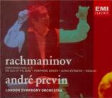 RACHMANINOV - Previn - Symphonie n°1 en ré mineur op.13