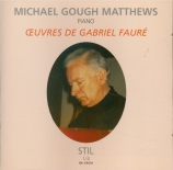 FAURE - Gough Matthews - Mazurka pour piano en si bémol op.32
