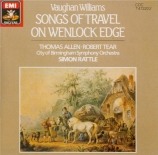 VAUGHAN WILLIAMS - Rattle - Songs of travel