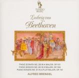 BEETHOVEN - Brendel - Sonate pour piano n°28 op.101