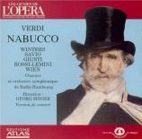 Nabucco (extraits)