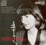 MOZART - Meyer - Quintette pour clarinette et cordes en la majeur K.581 Import Japon