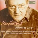 HODDINOTT - Del Mar - Symphonie n°2 op.29