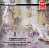 LONGO - Ciampa - Suite pour hautbois et piano op.63