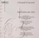 TCHAIKOVSKY - De Vito - Concerto pour violon en ré majeur op.35