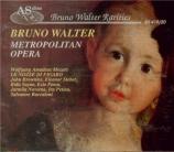 MOZART - Walter - Le nozze di Figaro (Les noces de Figaro), opéra bouffe live MET 29 - 01 - 1944