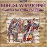 MARTINU - Kanka - Sonate pour violoncelle et piano n°1 H.277