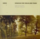 GRIEG - Morbitzer - Sonate pour violon et piano n°1 op.8