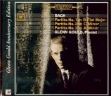 BACH - Gould - Partita pour claviern°1 en si bémol majeur BWV.825